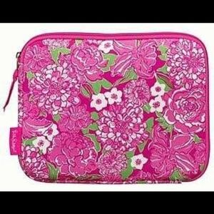 Lilly Pulitzer Neoprene May Flower IPad Cover